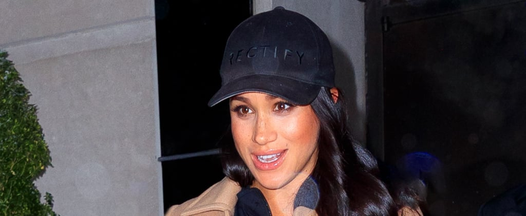 Meghan Markle Mommy Necklace NYC Feb. 2019