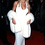 Britney Spears went with an all-white ensemble in 2000.