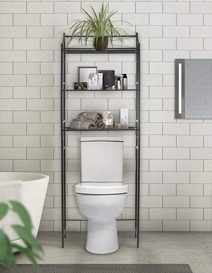 sorbus bathroom storage shelf over toilet space saver