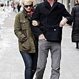 First Pictures of Carey Mulligan With Rumoured Boyfriend Eddie Redmayne