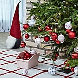 Vinterfest Red and White Bauble Set