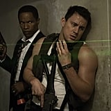 White House Down  Who's starring: Channing Tatum, Jamie Foxx, and Maggie Gyllenhaal Why we're interested: I feel like my 2013 hasn't had enough Tatum in it, but White House Down seems like it'll be the perfect star vehicle to highlight him (and his arms). And this is Tatum saving the White House! I believe it. I believe it so much. When it opens: June 28  Watch the trailer for White House Down.