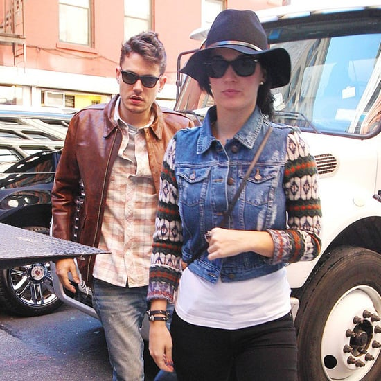 John Mayer and Katy Perry Birthday Lunch | Pictures