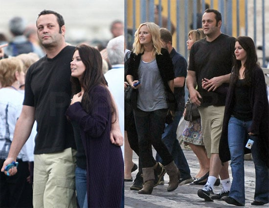 Photos of Vince Vaughn and Kyla Webber in Rome 2009-10-29 10:05:32