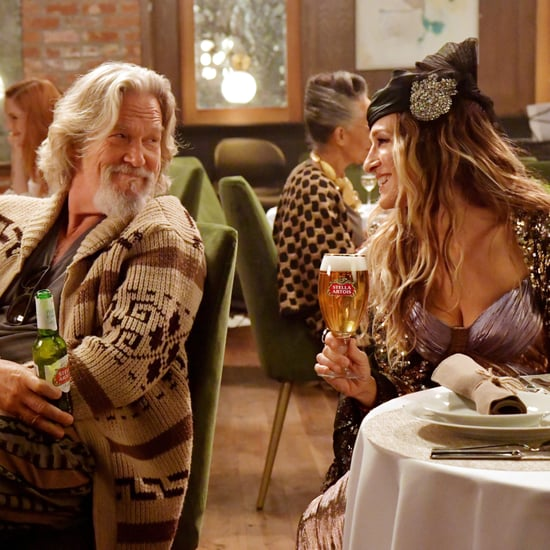 Sarah Jessica Parker and Jeff Bridges in Stella Artois Ad
