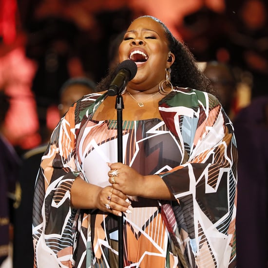 "Amber Riley Sings Beyoncé's ""Freedom"" at LA Protest 