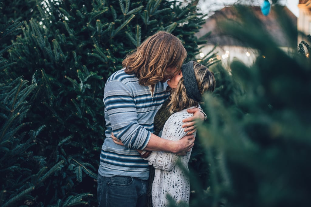 Walk Through a Christmas Tree Lot While Sipping Hot Cider