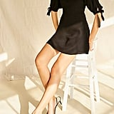 Forever 21 Puff Sleeve Fit & Flare Dress