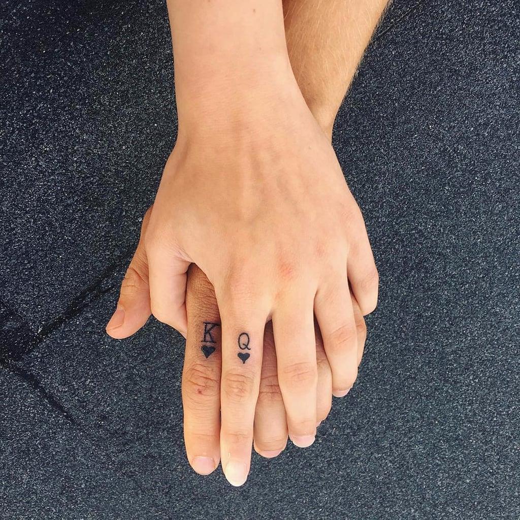 King And Queen Tattoo Ideas Popsugar Love Sex