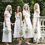 Louise's Bridesmaids' Dresses Were Inspired by Sex and the City