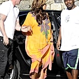 Beyoncé Knowles went house shopping in Miami.