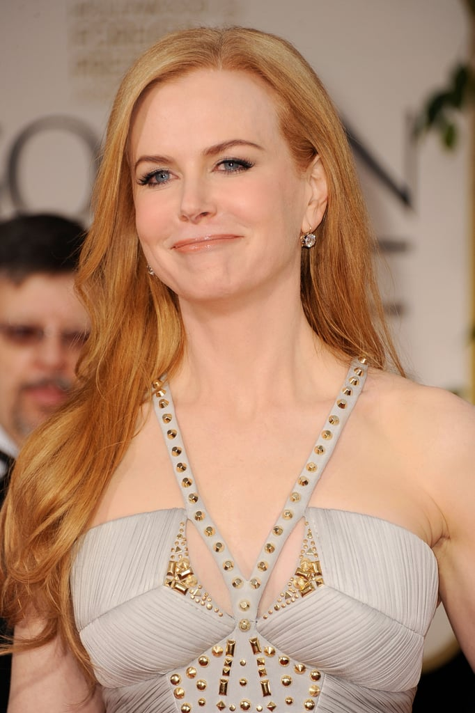 Nicole Kidman at the Golden Globes.