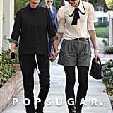 Ellen DeGeneres and Portia de Rossi Holding Hands in LA 2017