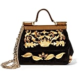Dolce & Gabbana Sicily Miini Embellished Shoulder Bag, $4,451
