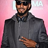 Swizz Beatz attended the MTV EMAs.