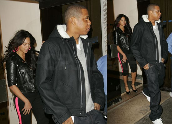 Beyonce and Jay-Z's Hot-Pink Date Night