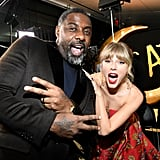 Idris Elba and Taylor Swift at the Cats World Premiere in NYC