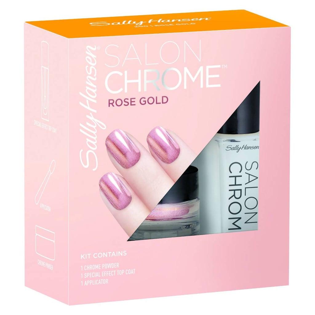 Sally Hansen Salon Chrome in Rose Gold | Fall Nail Polish ...