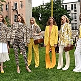 A flash of leopard print and high-impact brights dotted the collection.