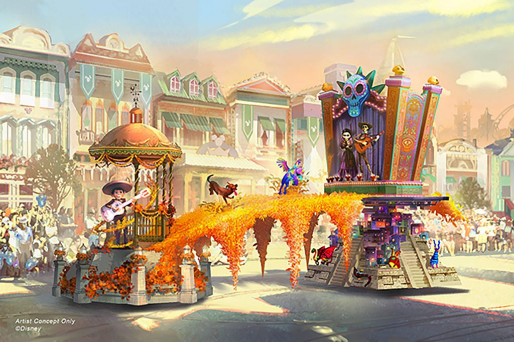 Disneyland Magic Happens Parade Details