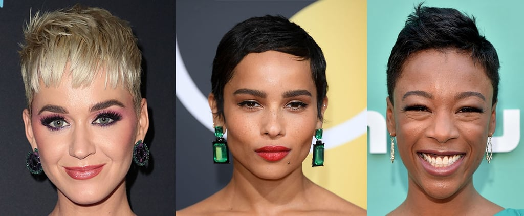 Celebrity Pixie Cuts 2018
