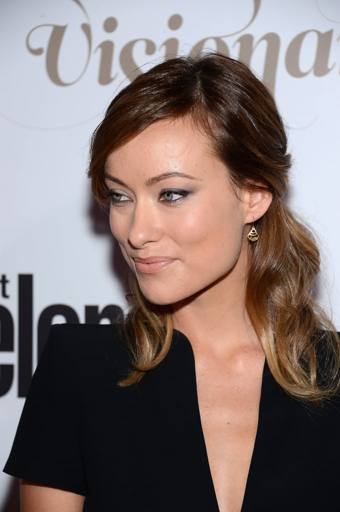 Olivia Wilde Shows PDA With Jason Sudeikis Before a Big Award Night