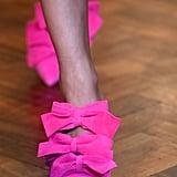 Osman Shoes on the Runway at London Fashion Week