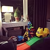 Jamie-Lynn Sigler couldn't wait for her son, Beau, to go crazy over his gifts!