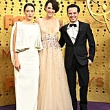Sian Clifford, Phoebe Waller-Bridge, and Andrew Scott at the 2019 Emmys