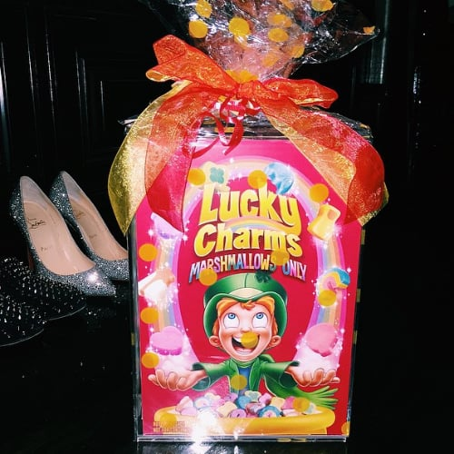 Kylie Jenner's Lucky Charms Marshmallows Only Box
