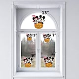Halloween Minnie and Mickey Mouse Static Cling Decoration for Windows