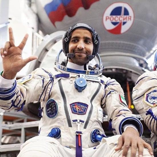 هزاع المنصوري ينشر أول تغريدة له من الفضاء 2019
