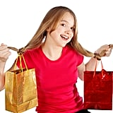 Shopping Bags as Hair Accessories