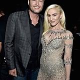 Pictured: Gwen Stefani and Blake Shelton