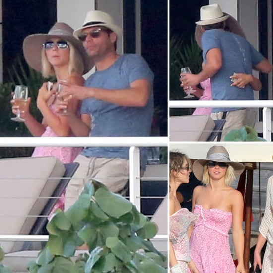 Ryan Seacrest and Julianne Hough Kiss in St. Barts Pictures