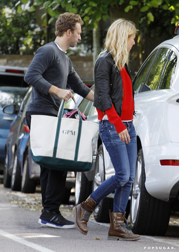 Gwyneth Paltrow And Chris Martin Went Shopping In London