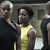 Okoye, Nakia, and Ayo