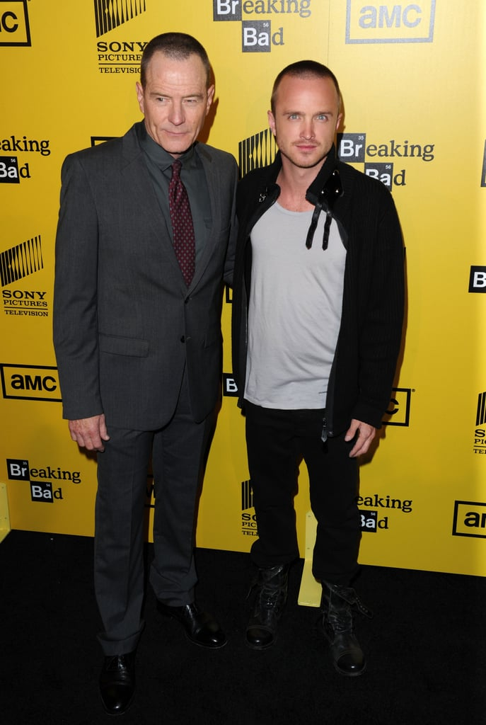 Breaking Bad Cast on the Red Carpet Over the Years Photos