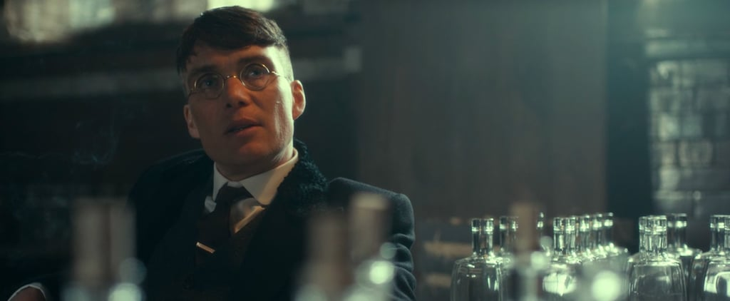 Thomas Shelby in Glasses on Peaky Blinders