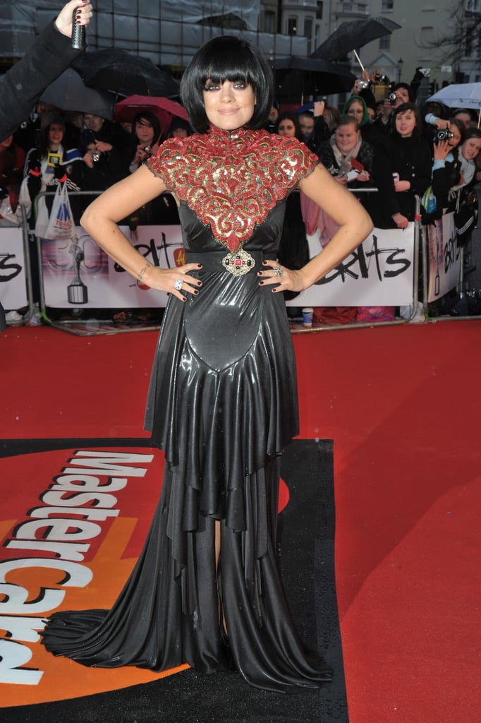 Photos of All the Celebs Arriving for the Brit Awards 2010 including Robbie Williams, Lady GaGa, Lily Allen, Dizzee Rascal