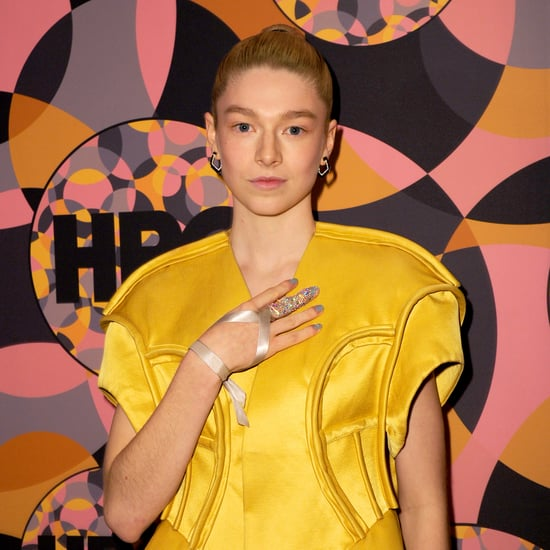Hunter Schafer Wore a Bedazzled Finger at a Globes Party