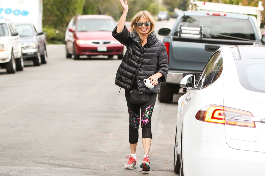 Goldie Hawn Out in LA January 2017