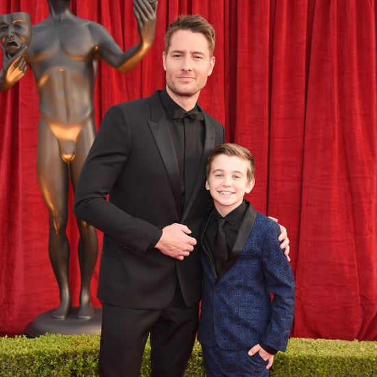 Justin Hartley at the 2018 SAG Awards
