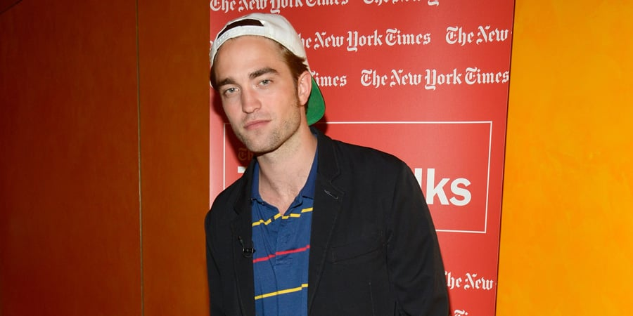 Robert Pattinson at TimesTalks in NYC Pictures