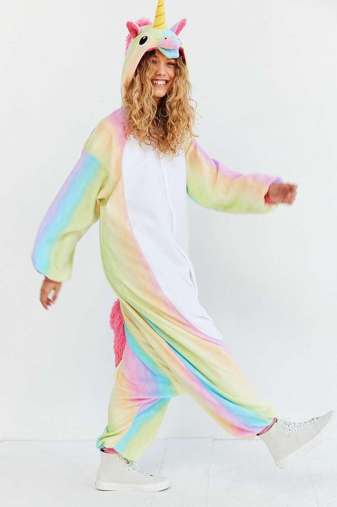 Kigurumi Rainbow Unicorn Costume ($80) | Onesie Costumes | POPSUGAR Love u0026 Sex Photo 1