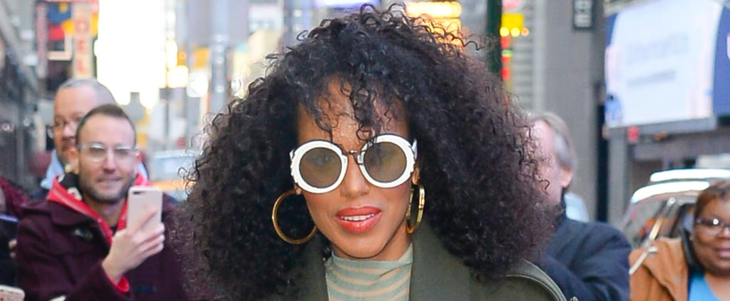Kerry Washington Wears Her Curls 4 Different Ways in 1 Day