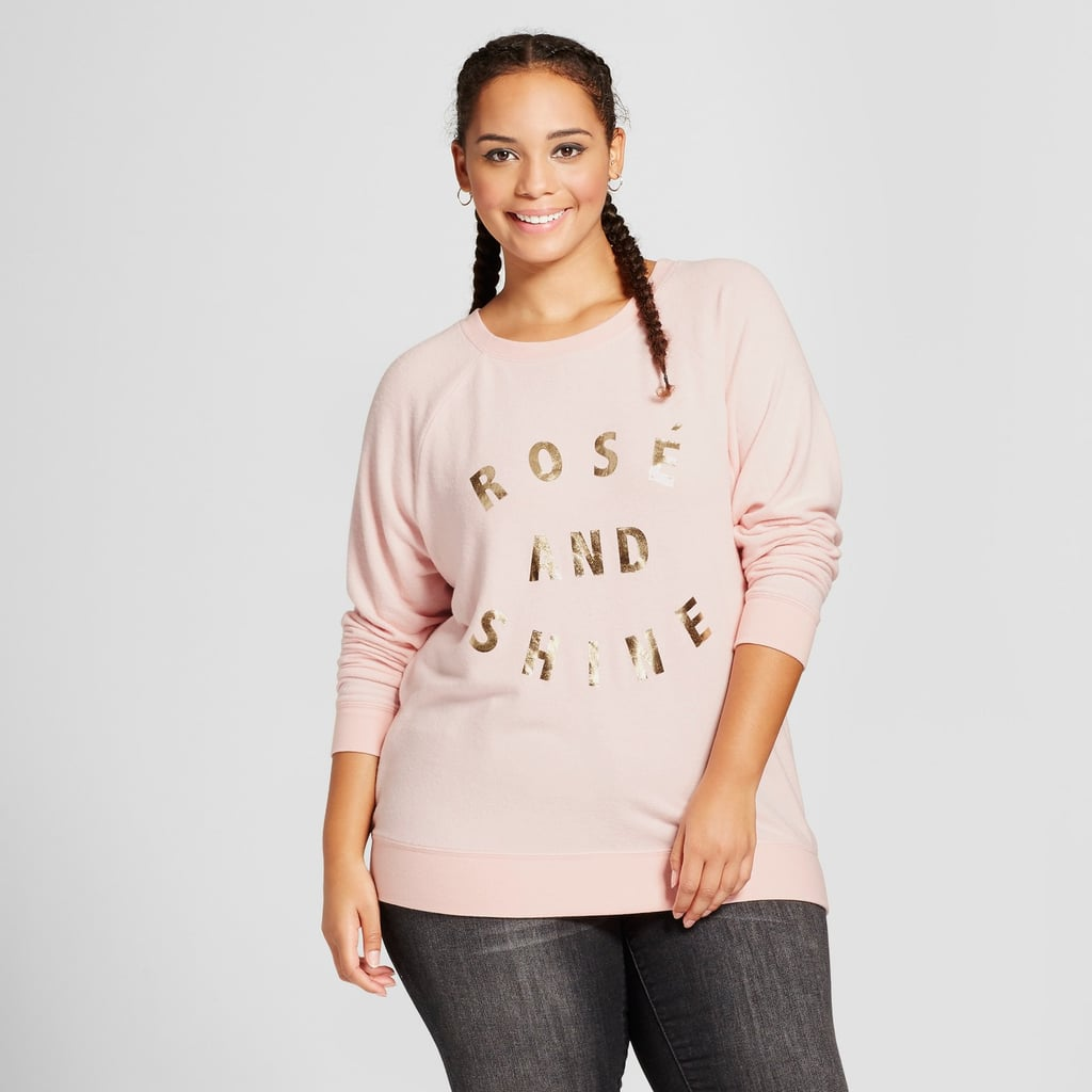 "Target ""Rose And Shine"" Sweater"