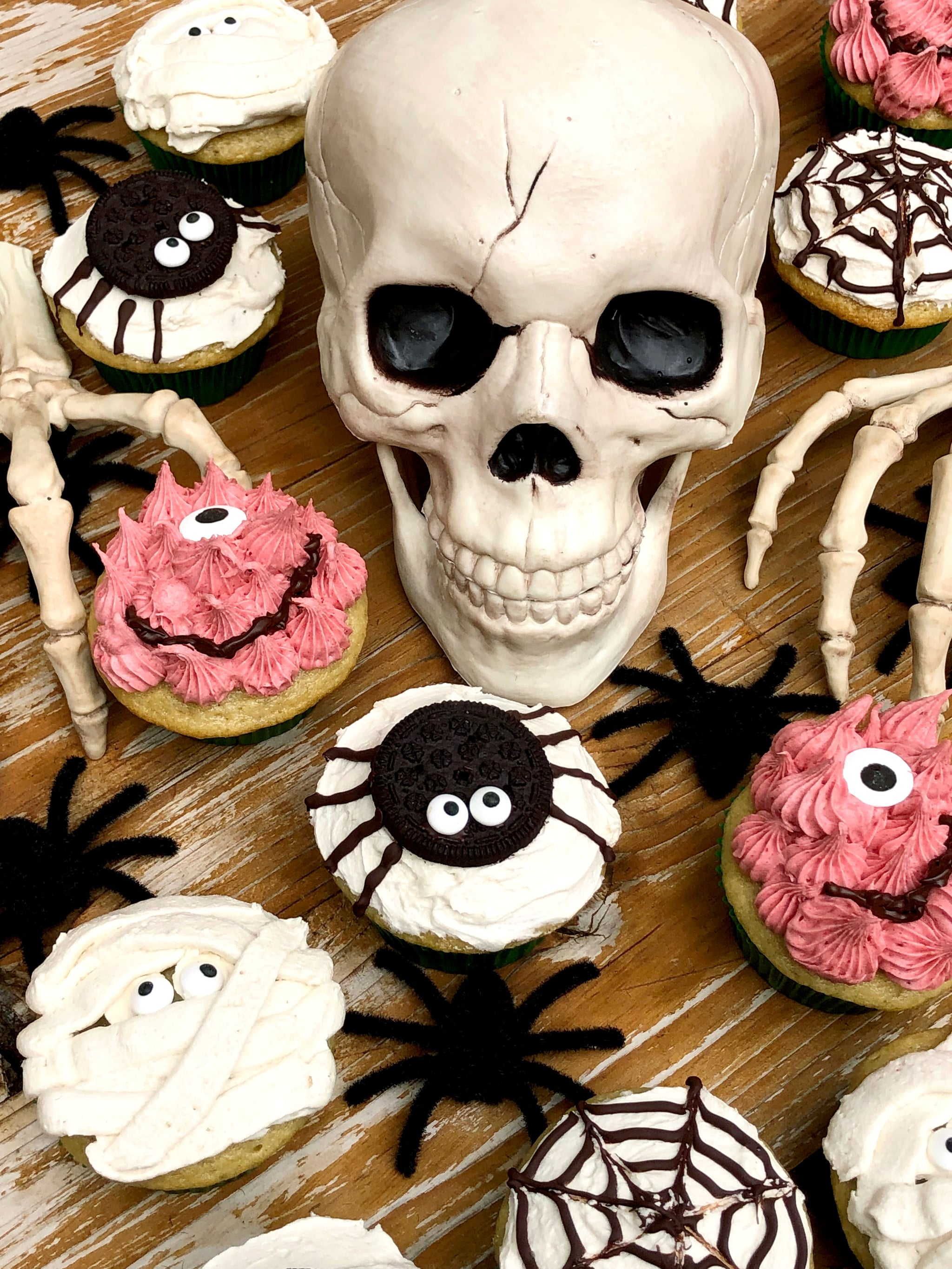 These Adorably Spooky Halloween Cupcakes Have No Scary Ingredients — and They're Vegan!