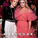 Kristen Stewart and Emma Roberts
