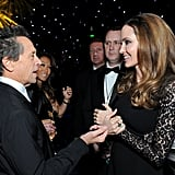 Angelina Jolie and Brian Grazer